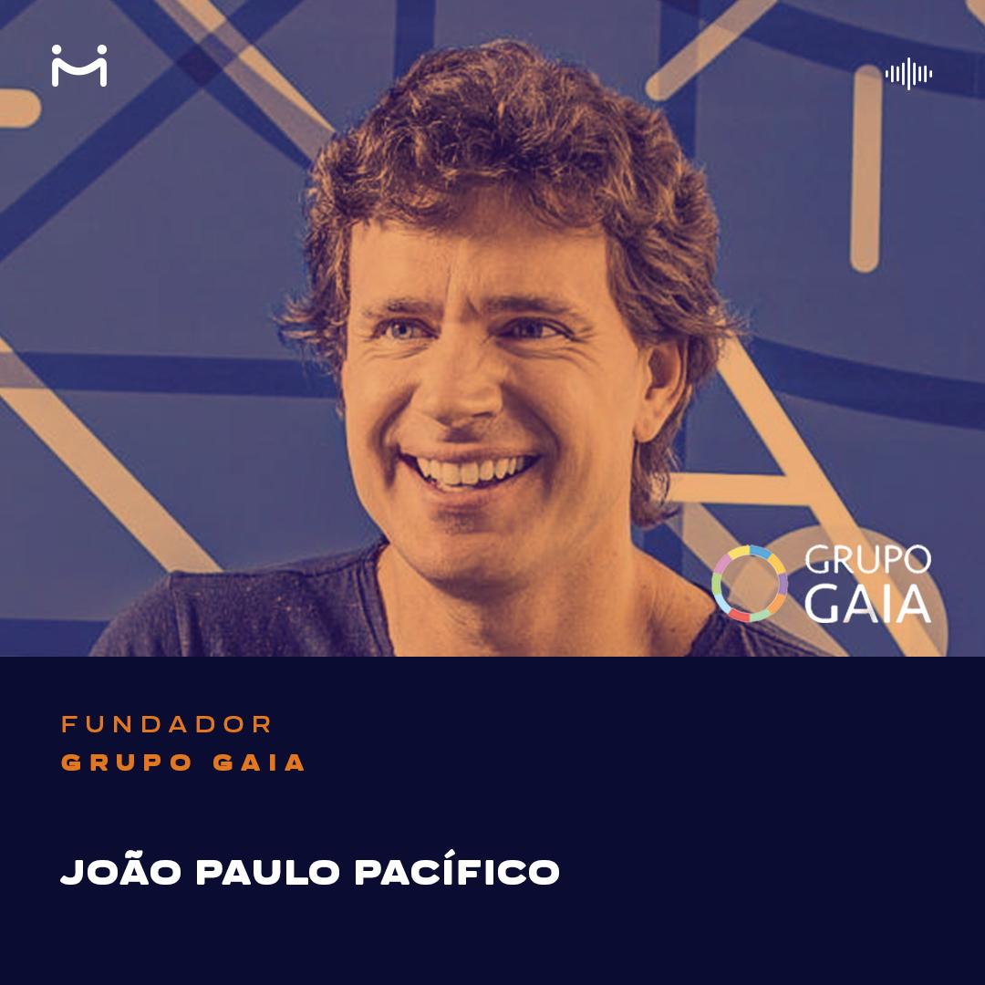 """João Paulo Pacífico, fundador do Grupo Gaia e """"evangelista da felicidade"""", aborda vários assuntos relativos ao autoconhecimento, desenvolvimento pessoal e organizacional"""