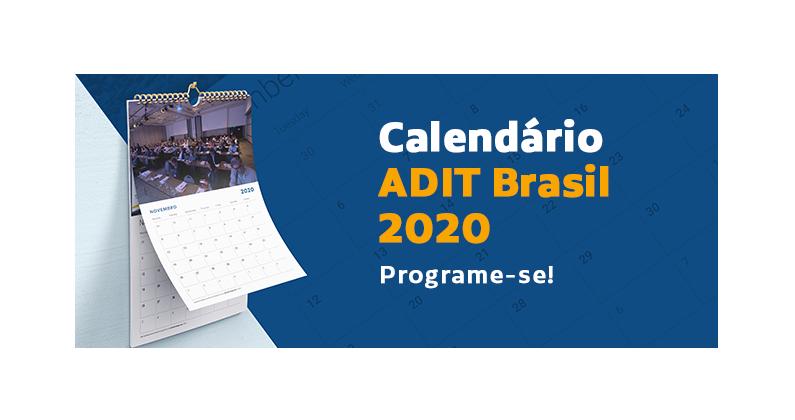 Agenda ADIT Brasil 2020.