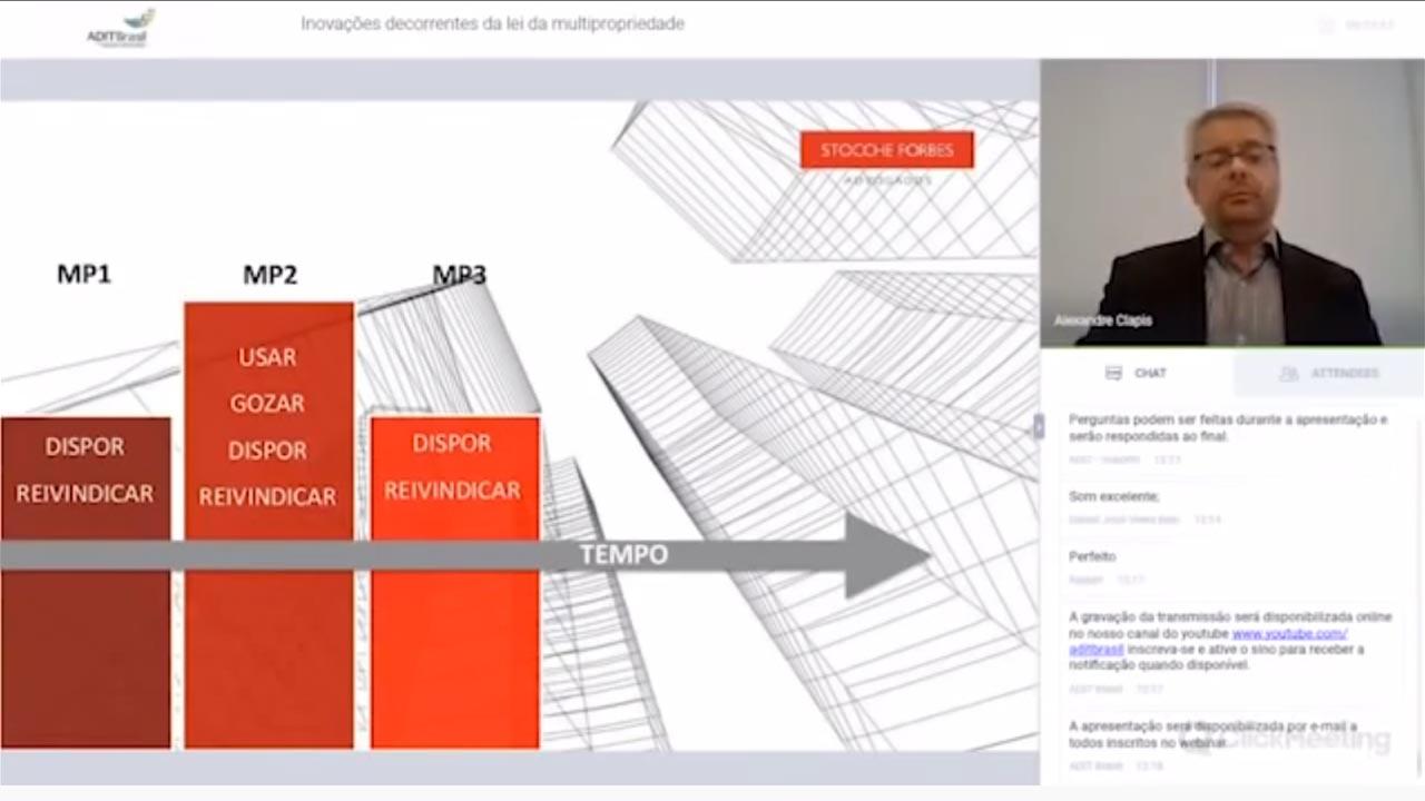 Inovações decorrentes da Lei da Multipropriedade - Alexandre Clapis (Stocche Forbes Advogados)