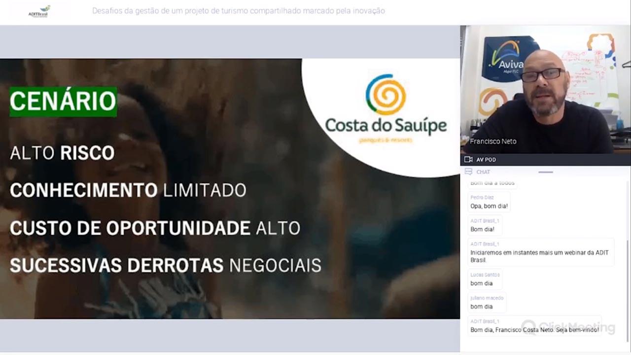 Desafios de um projeto de turismo compartilhado inovador - Francisco Costa Neto (Aviva)
