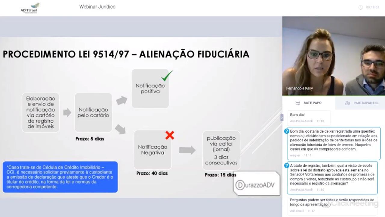 Execução da Alienação Fiduciária e Leilões Extrajudiciais - Kelly Durazzo e Fernando Semerdjian